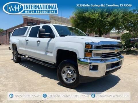 2015 Chevrolet Silverado 2500HD for sale at International Motor Productions in Carrollton TX