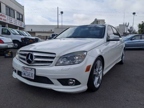 2010 Mercedes-Benz C-Class for sale at Convoy Motors LLC in National City CA