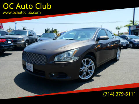 2012 Nissan Maxima for sale at OC Auto Club in Midway City CA