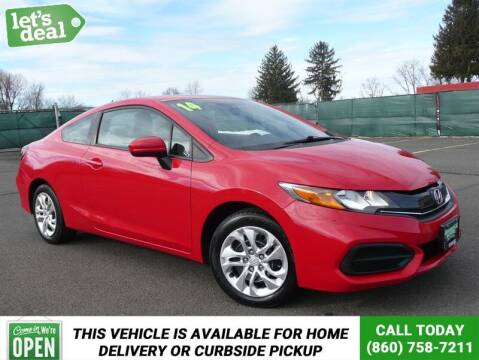 2014 Honda Civic for sale at Shamrock Motors in East Windsor CT