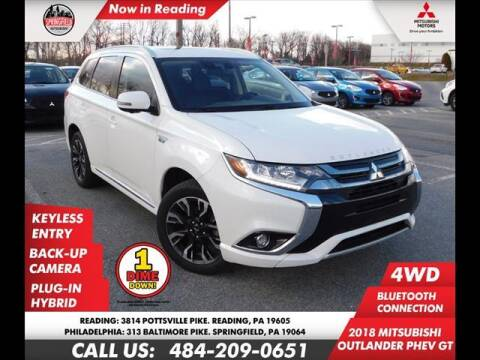 2018 Mitsubishi Outlander PHEV for sale at Volkswagen of Springfield in Springfield PA