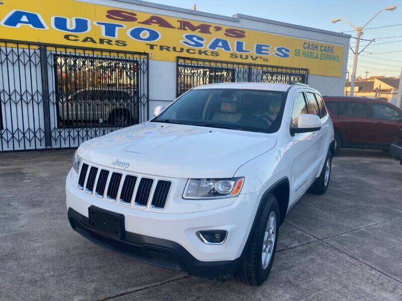 2015 Jeep Grand Cherokee for sale at Sam's Auto Sales in Houston TX