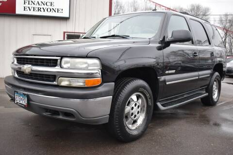 2003 Chevrolet Tahoe for sale at Dealswithwheels in Inver Grove Heights MN