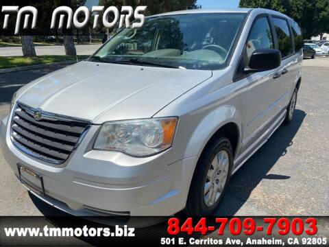 2008 Chrysler Town and Country for sale at TM Motors in Anaheim CA