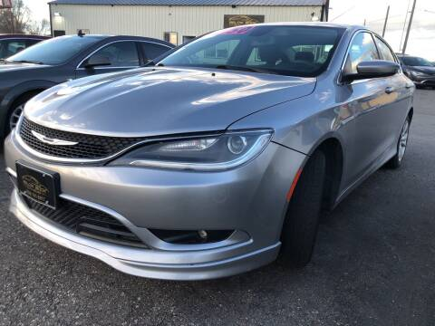 2016 Chrysler 200 for sale at BELOW BOOK AUTO SALES in Idaho Falls ID