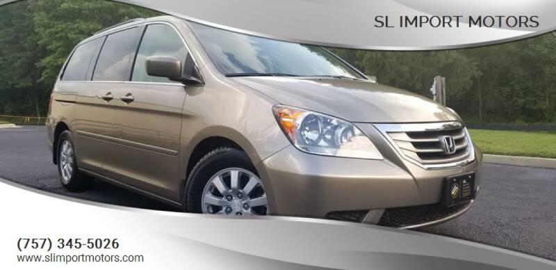 2009 Honda Odyssey for sale at SL Import Motors in Newport News VA