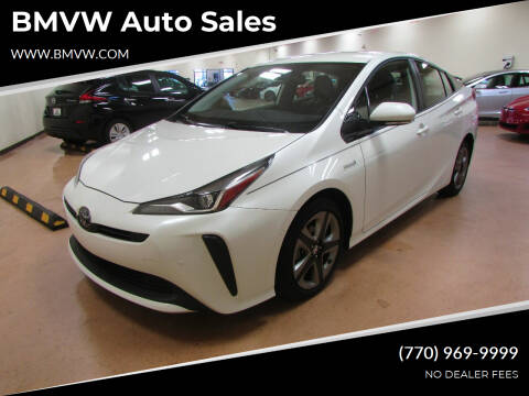 2019 Toyota Prius for sale at BMVW Auto Sales - Hybrids in Union City GA
