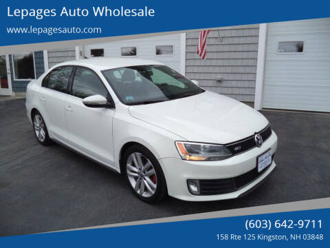 2012 Volkswagen Jetta for sale at Lepages Auto Wholesale in Kingston NH