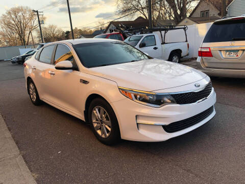 2016 Kia Optima for sale at Nice Cars Auto Inc in Minneapolis MN