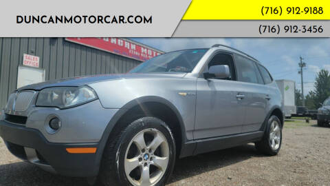 2008 BMW X3 for sale at DuncanMotorcar.com in Buffalo NY