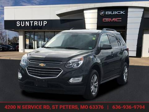 2017 Chevrolet Equinox for sale at SUNTRUP BUICK GMC in Saint Peters MO