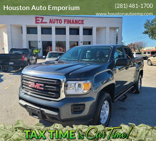 2017 GMC Canyon for sale at Houston Auto Emporium in Houston TX