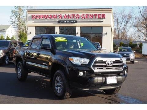 2016 Toyota Tacoma for sale at DORMANS AUTO CENTER OF SEEKONK in Seekonk MA