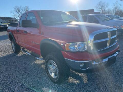 2003 Dodge Ram Pickup 2500 for sale at HILLS AUTO LLC in Henryville IN