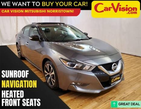 2016 Nissan Maxima for sale at Car Vision Mitsubishi Norristown in Trooper PA