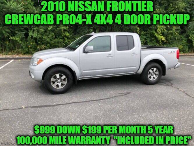 2010 Nissan Frontier for sale at D&D Auto Sales, LLC in Rowley MA
