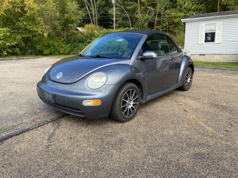 2004 Volkswagen New Beetle Convertible for sale at Riley Auto Sales LLC in Nelsonville OH