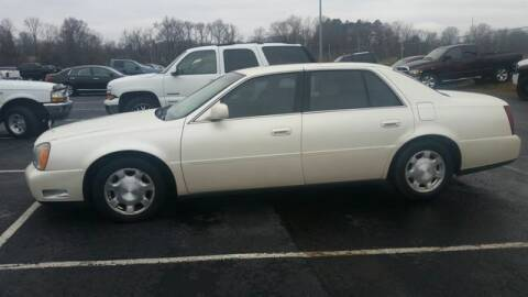 2001 Cadillac DeVille for sale at AFFORDABLE DISCOUNT AUTO in Humboldt TN
