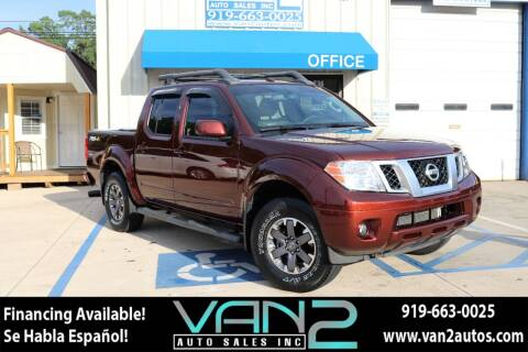 2016 Nissan Frontier for sale at Van 2 Auto Sales Inc in Siler City NC