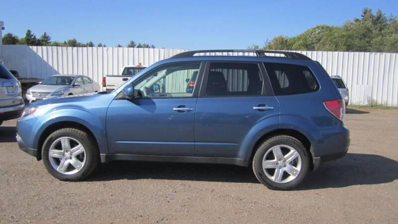 2009 Subaru Forester for sale at Pepp Motors in Marquette MI