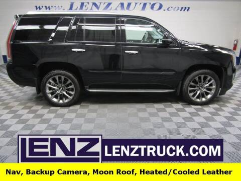 2020 Cadillac Escalade for sale at LENZ TRUCK CENTER in Fond Du Lac WI