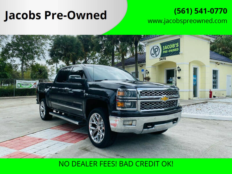 2014 Chevrolet Silverado 1500 for sale at Jacobs Pre-Owned in Lake Worth FL