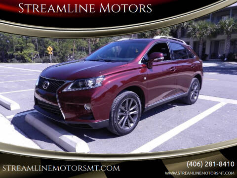 2015 Lexus RX 350 for sale at Streamline Motors in Billings MT