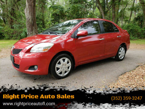 2012 Toyota Yaris for sale at Right Price Auto Sales-Gainesville in Gainesville FL