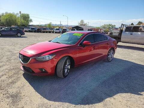 2014 Mazda MAZDA6 for sale at Canyon View Auto Sales in Cedar City UT