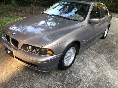 2002 BMW 5 Series for sale at Auto Cars in Murrells Inlet SC
