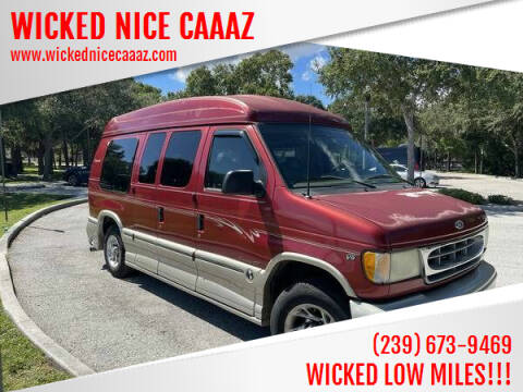 2002 Ford E-Series Chassis for sale at WICKED NICE CAAAZ in Cape Coral FL