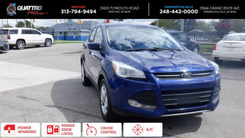2015 Ford Escape for sale at Quattro Motors 2 in Farmington Hills MI