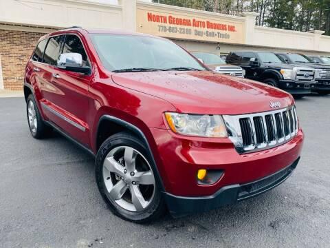 2013 Jeep Grand Cherokee for sale at North Georgia Auto Brokers in Snellville GA