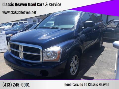 2006 Dodge Durango for sale at Classic Heaven Used Cars & Service in Brimfield MA