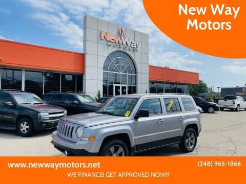 2016 Jeep Patriot for sale at New Way Motors in Ferndale MI