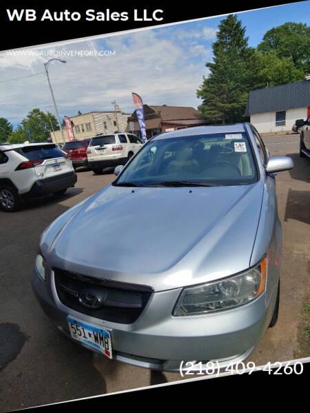 2008 Hyundai Sonata for sale at WB Auto Sales LLC in Barnum MN