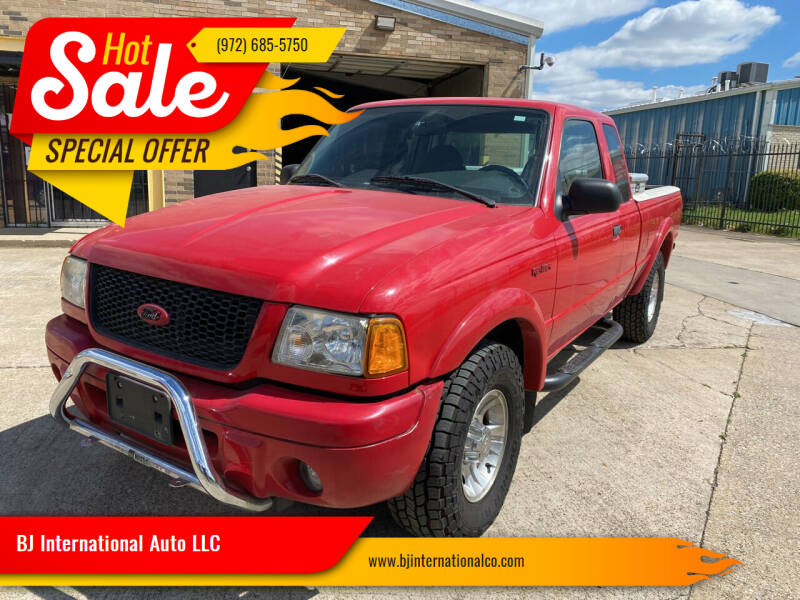 2002 Ford Ranger for sale at BJ International Auto LLC in Dallas TX