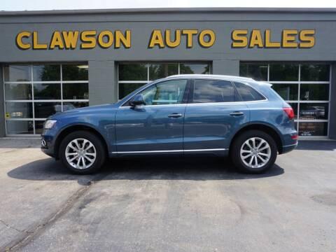 2015 Audi Q5 for sale at Clawson Auto Sales in Clawson MI