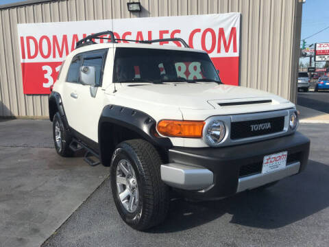 2014 Toyota FJ Cruiser for sale at Auto Group South - Idom Auto Sales in Monroe LA