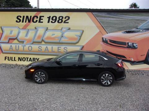 2017 Honda Civic for sale at Pyles Auto Sales in Kittanning PA