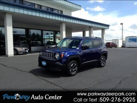 2017 Jeep Renegade for sale at PARKWAY AUTO CENTER AND RV in Deer Park WA