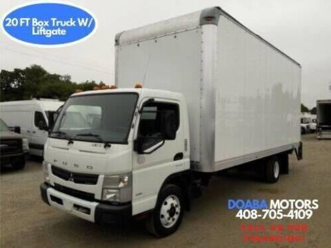 2014 Mitsubishi Fuso FEC92S for sale at DOABA Motors - Box Truck in San Jose CA