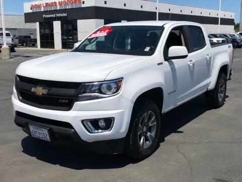 2017 Chevrolet Colorado for sale at Dow Lewis Motors in Yuba City CA
