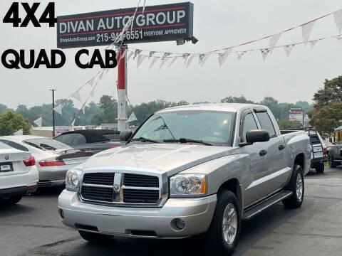 2007 Dodge Dakota for sale at Divan Auto Group in Feasterville Trevose PA