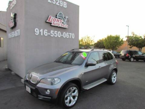 2008 BMW X5 for sale at LIONS AUTO SALES in Sacramento CA