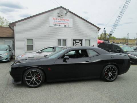 2016 Dodge Challenger for sale at BEST AUTO BARGAIN inc. in Lowell MA