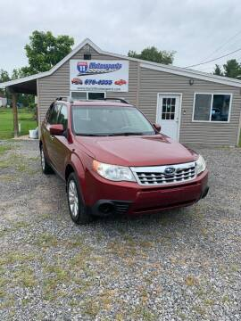 2011 Subaru Forester for sale at ROUTE 11 MOTOR SPORTS in Central Square NY