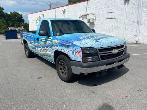 2007 Chevrolet Silverado 1500 Classic for sale at LUXURY AUTO MALL in Tampa FL