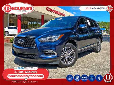 2017 Infiniti QX60 for sale at Bourne's Auto Center in Daytona Beach FL