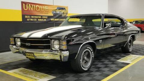 1971 Chevrolet Chevelle for sale at UNIQUE SPECIALTY & CLASSICS in Mankato MN